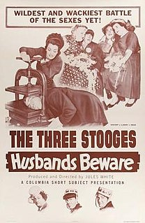 <i>Husbands Beware</i> 1956 film by Jules White