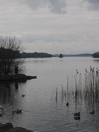 Innisfallen Island - View of Innisfallen Island from Ross Castle