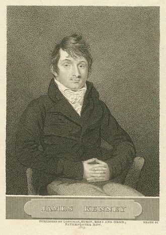 James Kenney (dramatist) - James Kenney, 1809, portrait by J. Heath