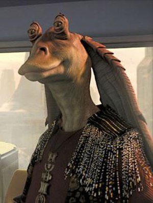 Jar Jar Binks - Jar Jar Binks in Attack of the Clones