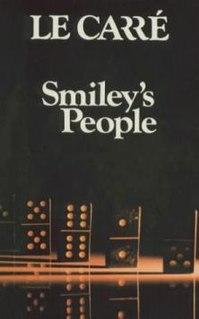 <i>Smileys People</i> 1979 novel by John le Carré