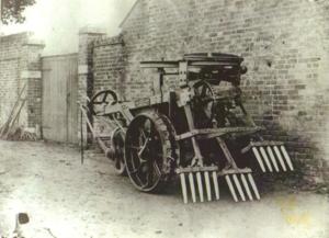 John Henry Knight - John Henry Knight's steam powered hop digging machine, circa 1872