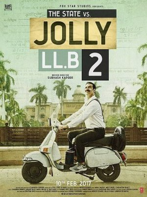 Jolly LLB 2 - Theatrical release poster