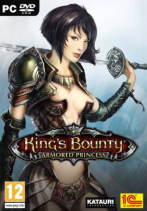 King's Bounty: Armored Princess - Image: King's Bounty Armored Princess cover