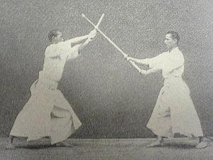 Kashima Shinden Jikishinkage-ryū - Kodachi no kata