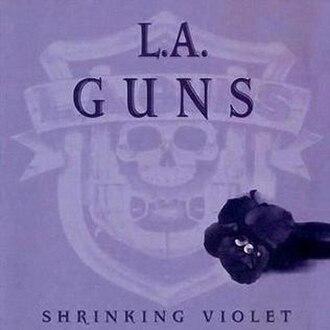 Shrinking Violet (album) - Image: LA Guns Shrinking Violet