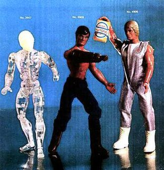 Kid Acero - From left to right: Invisible Man, Kid Acero, Bionic Man