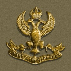 Lanarkshire Yeomanry - Cap badge of the Lanarkshire Yeomanry