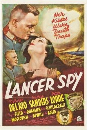 Lancer Spy - Image: Lancer Spy Film Poster