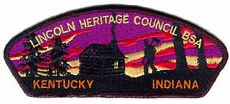 Lincoln Heritage Council - Image: Lincoln Heritage Council, patch
