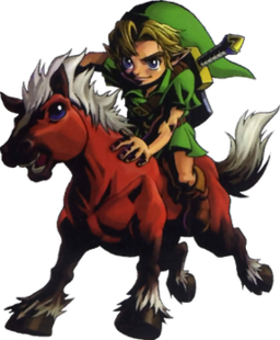 Link and Epona Majora's Mask.png