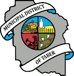 Municipal District of Taber - Image: Logo of Municipal District of Taber, Alberta, Canada