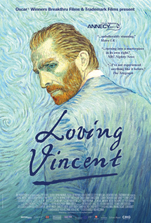 2017 biographical animated drama film about the life of painter Vincent van Gogh