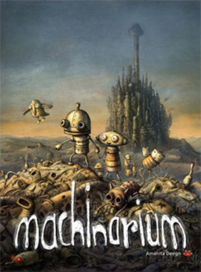 Picture of a game: Machinarium
