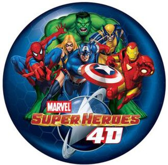 Marvel Super Heroes 4D - Image: Marvel super heroes 4d