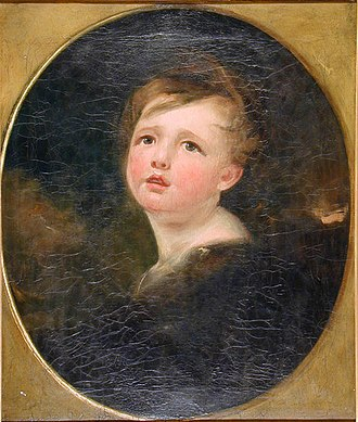 Master Betty - Master Betty; oil on canvas portrait by Margaret Carpenter (1804)