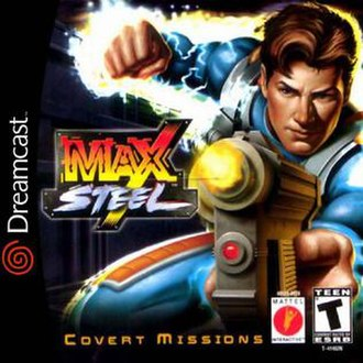 Max Steel: Covert Missions - Image: Max Steel Covert Missions Dreamcast