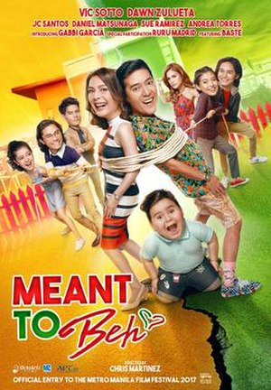 Meant to Beh - Theatrical release poster
