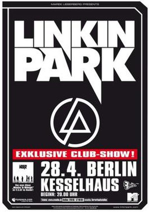 Minutes to Midnight World Tour - Promotional Poster for the tour