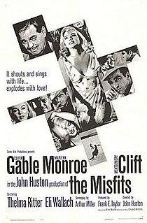 <i>The Misfits</i> (1961 film) 1961 film by John Huston