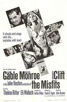 The Misfits 1961 Film Wikipedia