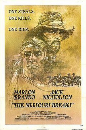 The Missouri Breaks - Image: Missouri breaks movie poster
