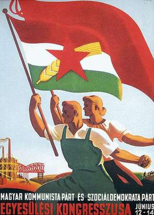 Hungarian Working People's Party - Unification congress poster