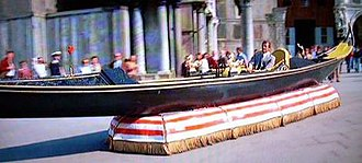 Moonraker (film) - The scene in which Moore drives a hovercraft gondola around St Mark's Square in Venice was widely criticised by film critics.