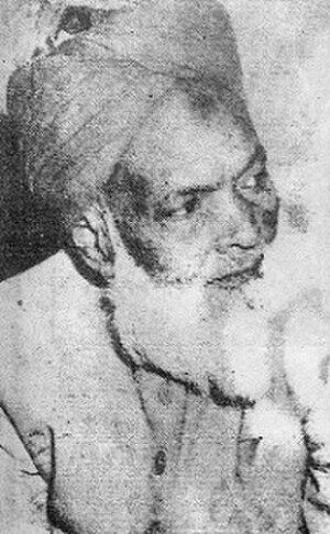 Muhammad Shafi Deobandi - Image: Mufti Muhammad Shafi (Usmani)