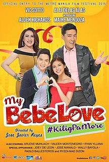 <i>My Bebe Love: KiligPaMore</i> 2015 Filipino film