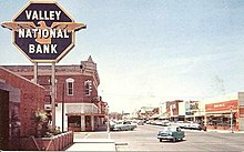 Nash Street Valley National Bank, Safford, Arizona, 1950s.jpg