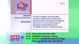 Hitradio Ö3 - Ö3 On-Screen-Design 2008