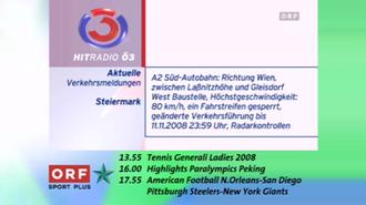 Hitradio Ö3 - Ö3 On-Screen-Design 2008
