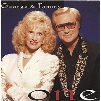 One (George Jones and Tammy Wynette album) - Image: One George Tammy