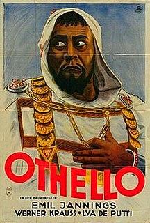 <i>Othello</i> (1922 film) 1922 German silent film by Dimitri Buchowetzki