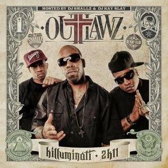 Killuminati 2K11 - Image: Outlawz killuminati 2k 11 cover