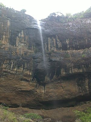 Kharghar - Pandavkada Falls, situated in Kharghar.