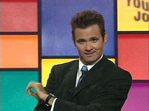 Good News Week - Paul McDermott hosting an episode during the show's initial run on Network Ten