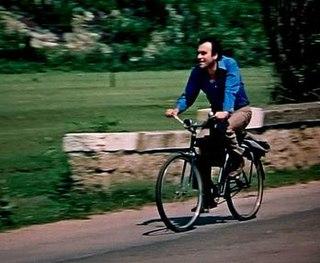 <i>A Peasant on a Bicycle</i> 1974 film by Lyudmil Kirkov