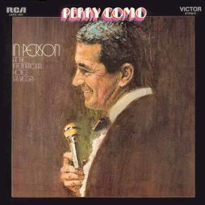 Perry Como in Person at the International Hotel, Las Vegas - Image: Perry in Vegas