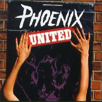 United (Phoenix album) - Image: Phoenix Unitedalbumcover