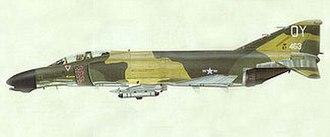 Richard Bassford - Airbrush illustration of F-4D Phantom by Richard Bassford