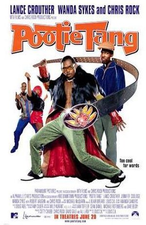 Pootie Tang - Theatrical release poster