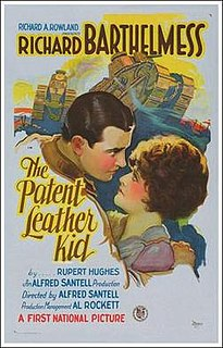 <i>The Patent Leather Kid</i> 1927 silent film directed by Alfred Santell