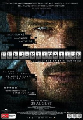 Predestination (film) - Theatrical release poster