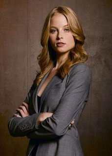 Rachel Gibson (Alias) Fictional character played by Rachel Nichols in the final season of the American action thriller television series, Alias