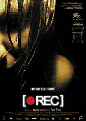 REC (film series) - REC theatrical release poster