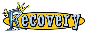 Recovery (TV series) - Image: Recovery logo white background