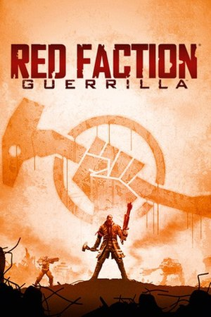 Red Faction: Guerrilla - North American box art