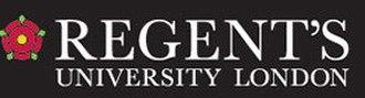 Regent's University London - Image: Regent's University London logo